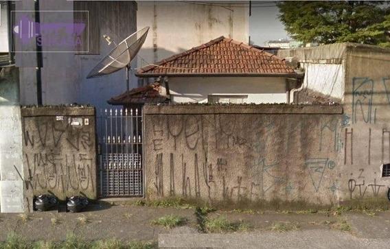 Terreno À Venda, 195 M² Por R$ 500.000,00 - Vila Alzira - Santo André/sp - Te0060