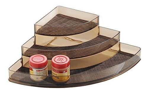 Idesign Twillo Spice Rack, Organizador De Esquina Para Despe