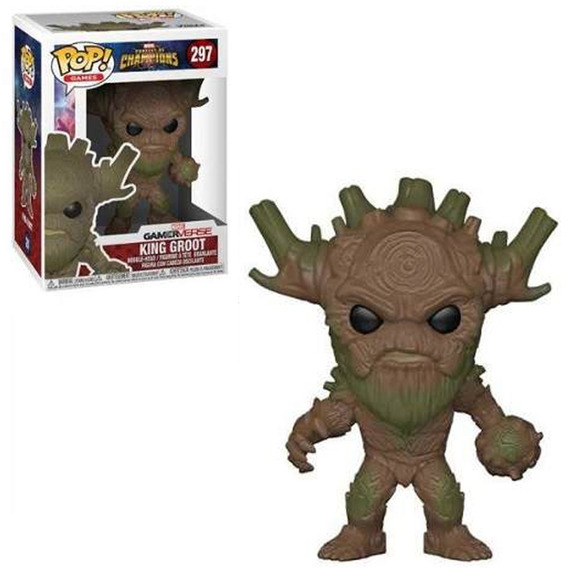 Figura Funko Pop Games Contest Of Champions - Rey Groot 297