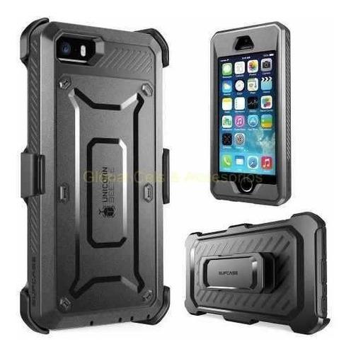 Case iPhone 5 / 5s Supcase Pro Holster Gancho Mica Integrada