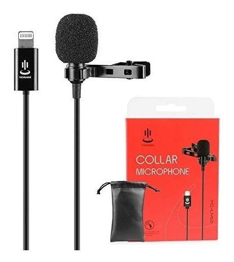 Microfone Lapela Para iPhone Yc-lm10 Yichuang