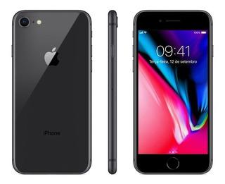 iPhone 8 Cinza- Espacial 256gb Vitrine Em 12x S/juros