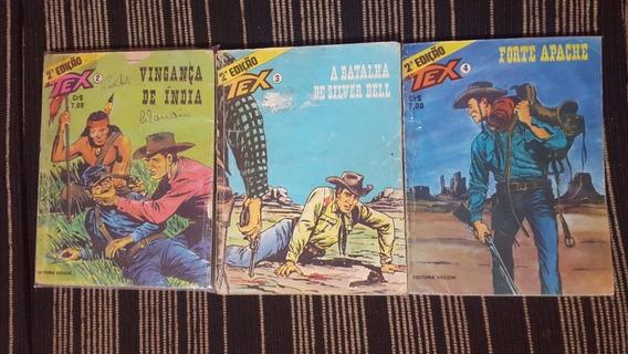 Gibi / Revista Tex Nº 2, 3 E 4