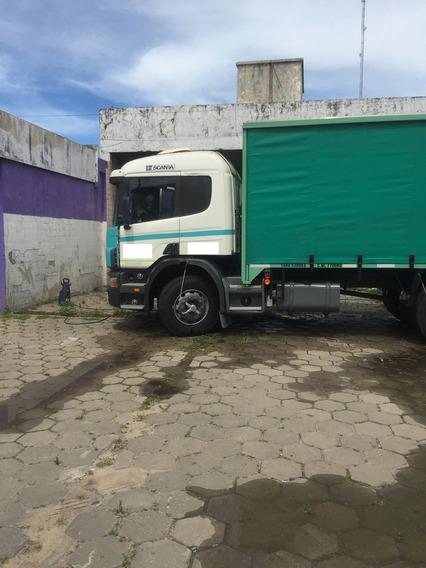 Scania P-94 Ga 260 4x2 Nz 1999 Caja Sider El Mejor De Todos