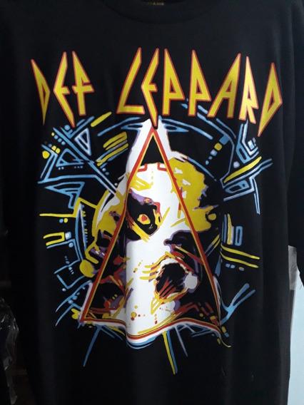 Camiseta - Def Leppard - Hysteria - G