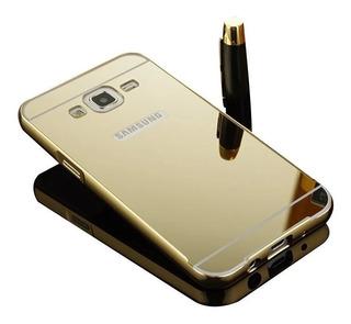 Capa Bumper Espelhada Anti Impacto Samsung Galaxy C5 Dual