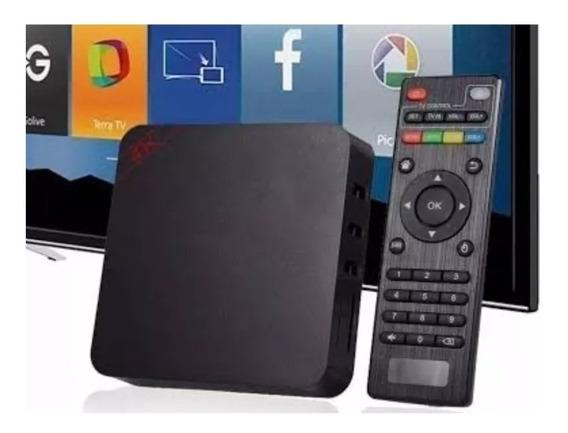 Aparelho Conversor Box Tv - Transforma Tv Em Smart 4k + Hdmi