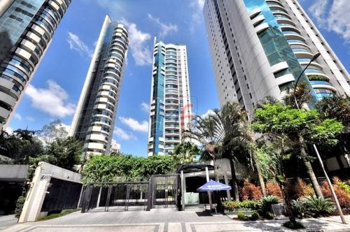 Imagem 1 de 30 de Ref: 12.981- Excelente Apartamento Localizado No Bairro Paraíso Do Morumbi, 336 M² De Área Útil, 4 Dorms, Sendo 4 Suítes, 5 Vagas. - 12981