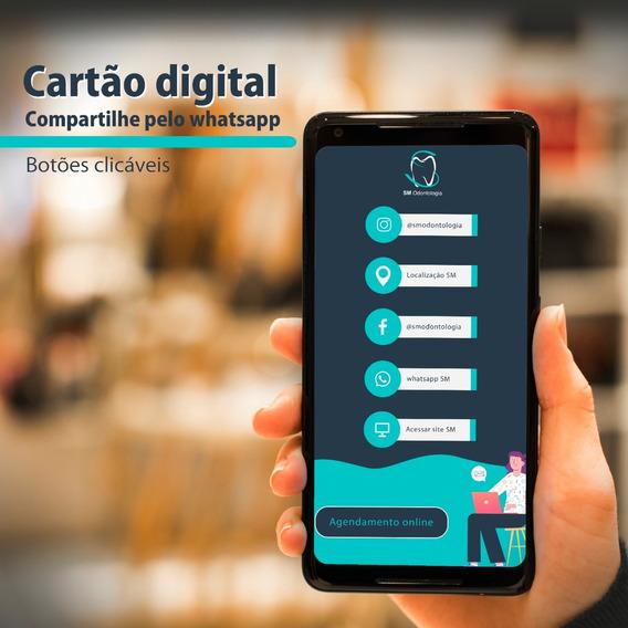 Cartão Digital+automação De Agendamento