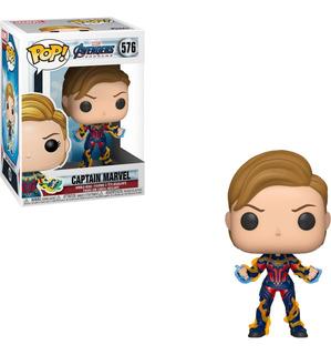 Funko Pop! Avengers Endgame Captain Marvel Envió Incluido