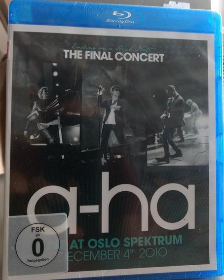 Blu-ray A-ha - Ending On A High Note Lacrado Importado