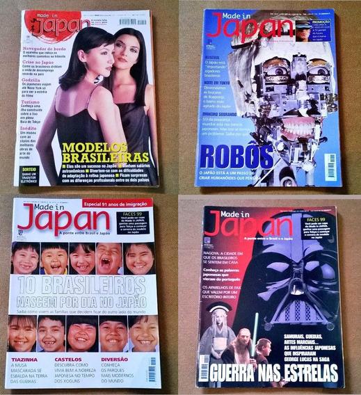 Revista Made In Japan 10 Ao 67 - 17,00 Cada (japão Anime)