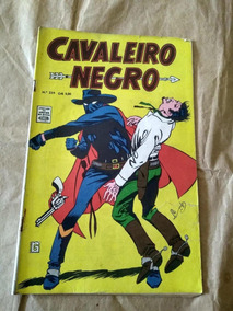 Cavaleiro Negro Nº 234 - Anos 70 - Rio Gráfica - Faroeste