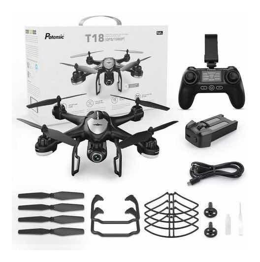 Drone Potensic T18 Gps 1080p