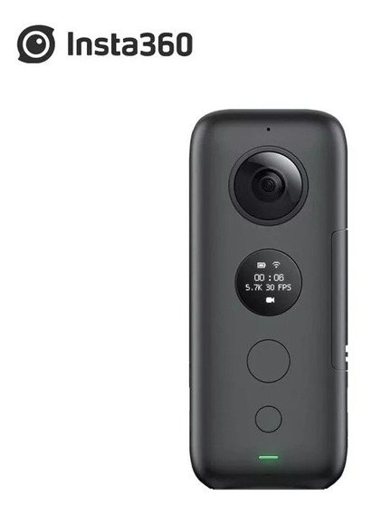 Insta360 One X Superior A 4k Com Slow Motion Bullet Time