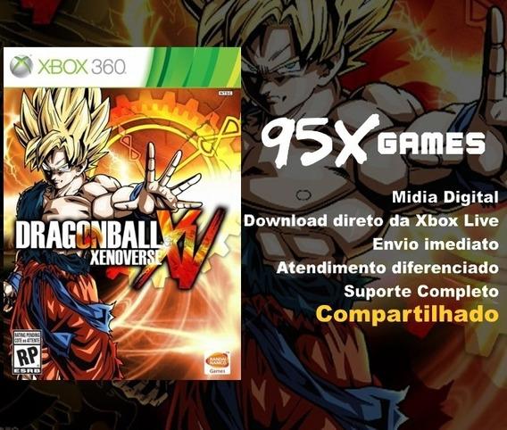 Midia Digital Xbox 360 - Dragonball Xenoverse Xv
