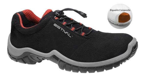 Sapato Tipo Tenis Segurança Estival En1002 Bico Composite