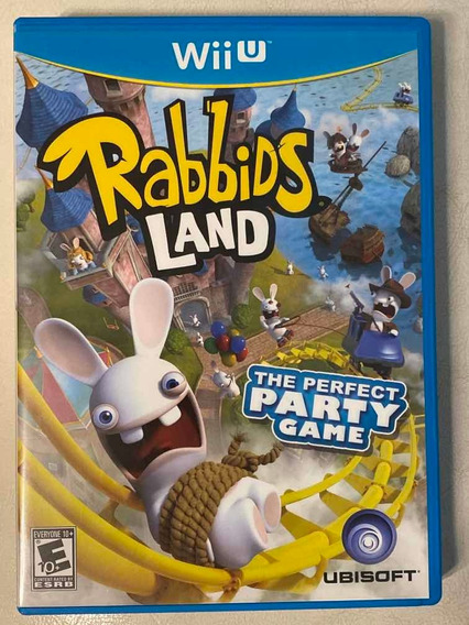 Jogo Rabbids Land The Perfect Party Game Para Wii U