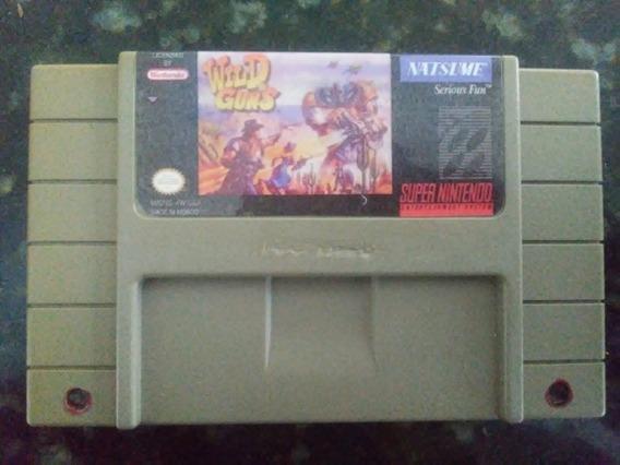 Wild Guns - Original - Super Nintendo - Snes