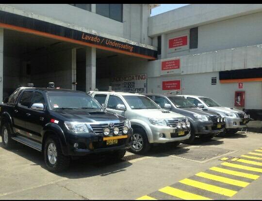 Alquiler De Toyota Hilux 2019 Superficie Y Socavon
