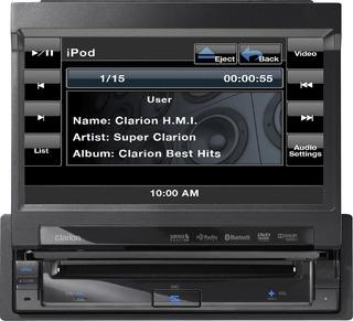 Radio Clarion Vz-401 7 Pulgadas