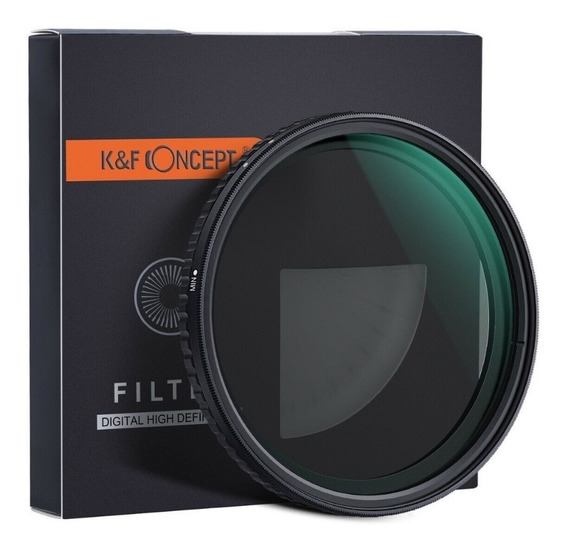 Filtro K&f Original N2 - Nd32 P/ Toda Lente C/ Boca ( 72mm )