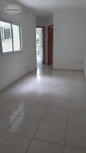 Imagem 1 de 19 de Apartamento Cobertura Sem Condominio Com 2 Dormitórios À Venda Por R$ 255.000 - Jardim Silvana - Santo André/sp - Ad0001