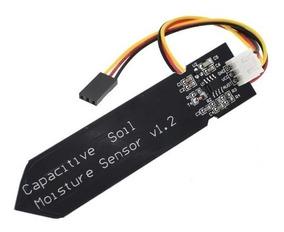 Sensor Umidade Do Solo Capacitivo Maior Durabilidade Arduino