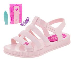 Sandália Infantil Feminina Barbie Dreamhouse Grendene Kids -