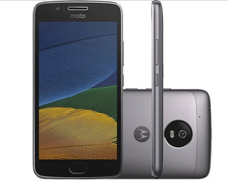 Smartphone Motorola Moto G5 - 32gb 2gb Ram Platinum
