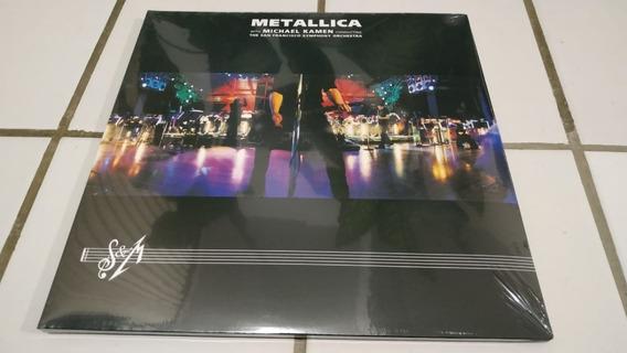 Metallica - S&m Live [vinyl] 3 X Lp 180gram