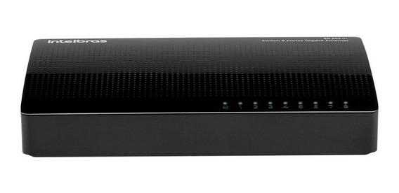 Switch Intelbras 8portas 10|100|1000 Giga Sg800q+