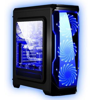 Chasis / Case / Torre Gamer Segotep Halo Atx Promo + Regalo