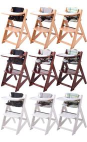Silla Comer Bebe Madera Posiciones Alturas - Alpine Chair