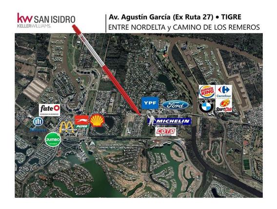 Lote | Alquiler | Ruta 27 - Av. Agustín García Al 6000 | Entre Nordelta Y C. De Los Remeros | Rincón De Milberg | Nuevo Delta | Tigre | Zona Norte
