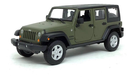 Miniatura Carro Jeep Wrangler Unlimited 2015 1:24 Jada Toys
