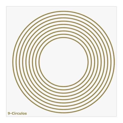 Placa Radiônica 9-círculos