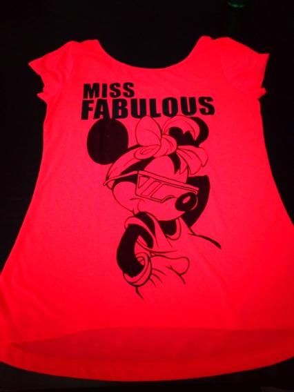 Remera Mujer Minie - Disney Original - Talle M