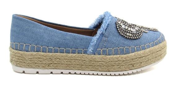 Sapatilha Alpargata Feminina Olfer Shoes 3077 Elefante