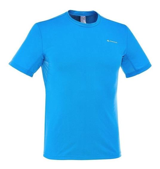 Camiseta De Manga Corta Para Campamento Techfresh 8355739
