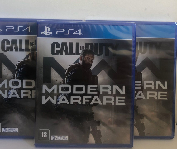 Call Of Duty Modern Warfare Ps4 Mídia Física + Brinde