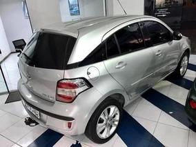 Chevrolet Agile 1.4 Mpfi Ltz 8v 2014 Prata Flex