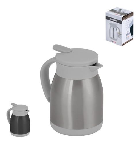 Garrafa Térmica Café Chá Leite Aço Inox 600ml Com Alça