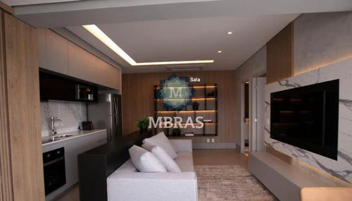 Luxuoso Apartamento 01 Dormitório Na Vila Olímpia  - Mb10624