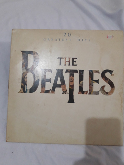 Lp The Beatles -20 Greatest Hits