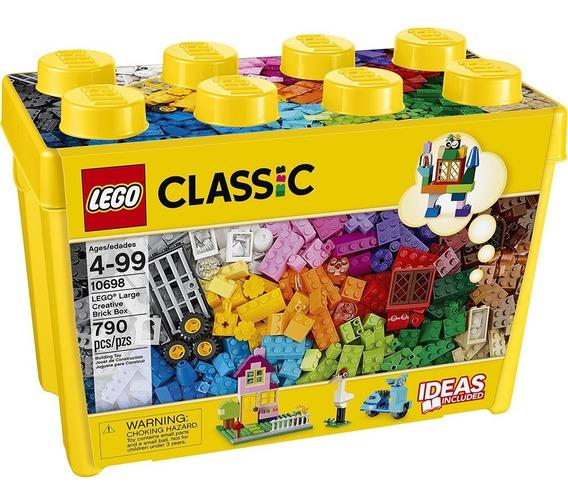 Lego Classic Caixa Grande De Peças Criativas 790- Lego 10698
