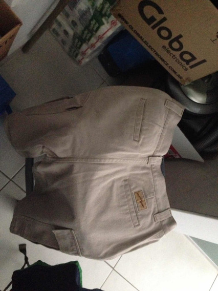 Bermuda Ullum Jeans Beige Hombre Nautica Talle 40