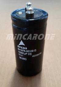 Capacitor 10.000uf 75v Epcos 75v B41875 Ao109-q