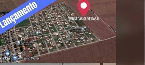 Imagem 1 de 2 de Terreno À Venda, 416 M² Por R$ 120.000,00 - Loteamento Jardim Das Oliveiras I - Foz Do Iguaçu/pr - Te1689