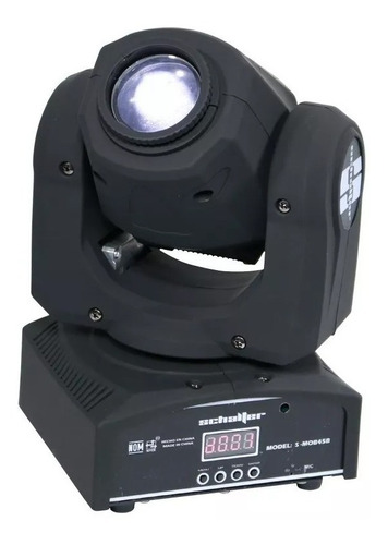 Imagen 1 de 6 de Schalter Spot Beam Cabeza Movil Led Alta Velocidad Gobos 45w